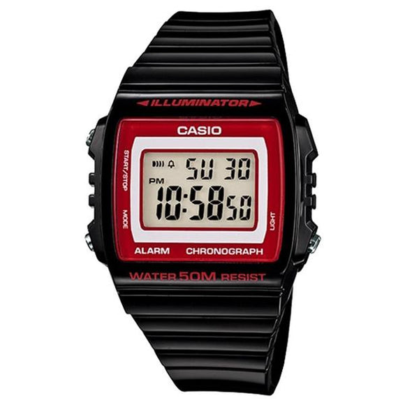 Casio Illuminator Digital Display Watch - W215H-1A2