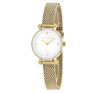 Ted Lapidus Women's Gold Plated Stainless Steel Watch - A0680PBPXX