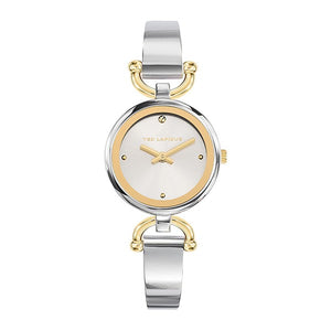 Ted Lapidus Women's Silver Dial Stainless Steel Watch - A0693BBPW