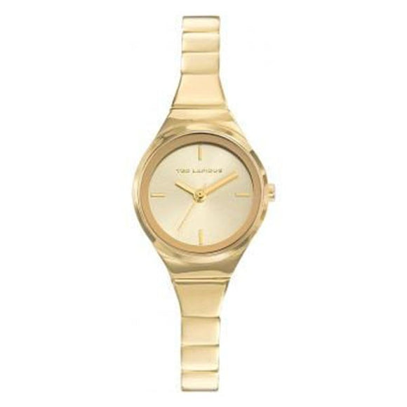 Ted Lapidus Women's Gold Plated Stainless Steel Watch - A0697PTIX
