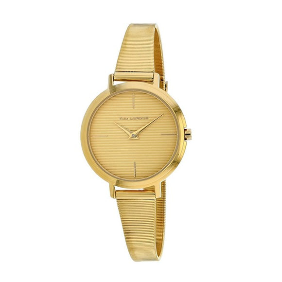 Ted Lapidus Women's Gold Plated Stainless Steel Watch - A0712PYIX