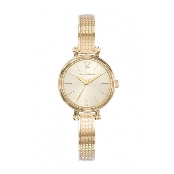 Ted Lapidus Women's Gold Plated Stainless Steel Watch - A0723PTIW