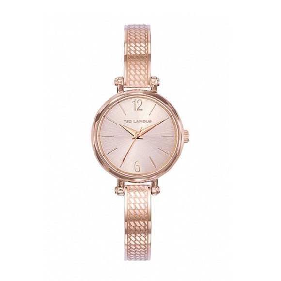 Ted Lapidus Women's Rose Gold Plated Stainless Steel Watch - A0723URIW