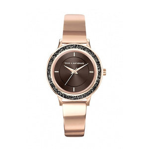 Ted Lapidus Women's Rose Gold Plated Stainless Steel Watch - A0728UMIW