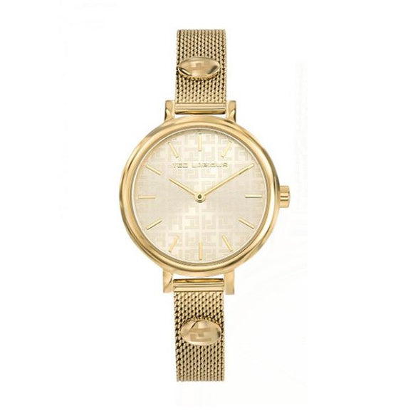 Ted Lapidus Women's Gold Plated Stainless Steel Watch - A0731PTIX