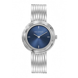 Ted Lapidus Women's Blue Dial Stainless Steel Watch - A0743ADIW