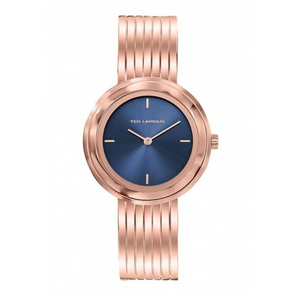 Ted Lapidus Women's Rose Gold Plated Stainless Steel Watch - A0743UDIW