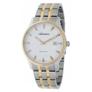 Adriatica Swiss Made Men's Two Tone Gold Plating Watch - A1258.R113Q