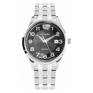 Adriatica Swiss Made Men's Grey Dial Stainless Steel Watch A1278.5124Q
