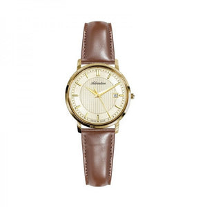 Adriatica Swiss Made Women's Leather Strap Watch - A3177.1211Q