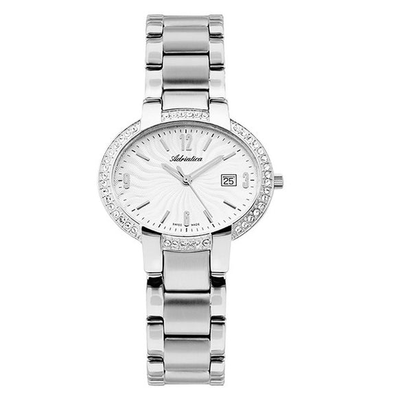 Adriatica Swiss Made Women's Stainless Steel Watch - A3627.5153QZ