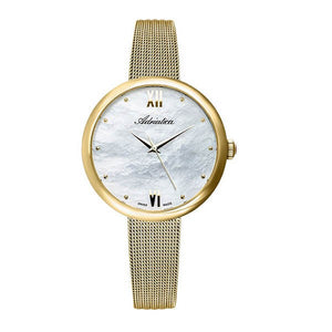 Adriatica Swiss Made Women's Gold Plated Watch - A3632.118FQ
