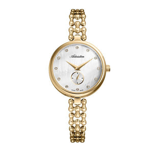 Adriatica Swiss Made Women's Gold Plated Watch - A3727.114FQ