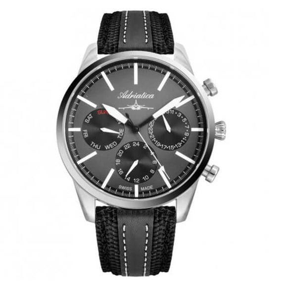 Adriatica Swiss Made Men's Multifunction Watch - A8185.5217QF