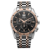 Adriatica Swiss Made Men's Black Dial Chronograph Watch - A8202.R114CH