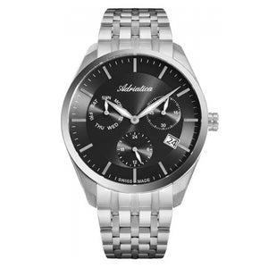 Adriatica Swiss Made Men's Multifunction Watch - A8309.5116QF