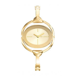 Ted Lapidus Women's Gold Plated Stainless Steel Watch - B0234PTIW