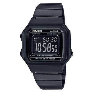 Casio Men's Black Dial Black Case and band Digital Watch B650WB-1BDF