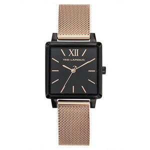 Ted Lapidus Women's Rose Gold Plated Stainless Steel Watch - C0105NNIX