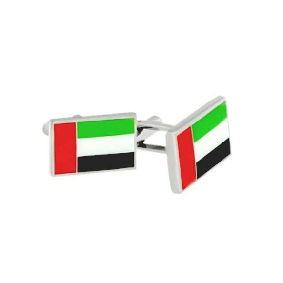 BLADE Cufflinks UAE Flag Stainless Steel - C213U 1