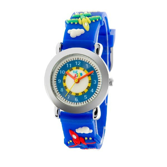 Eliz Kids Polyurethane Band Watch EK1002 Blue