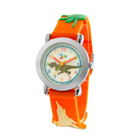 Eliz Kids Polyurethane Band Watch EK1002 Orange