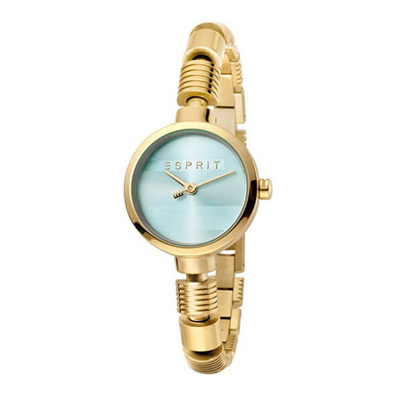 Esprit Women's Gold Plated Stainless Steel Band Watch - ES1L017M0045