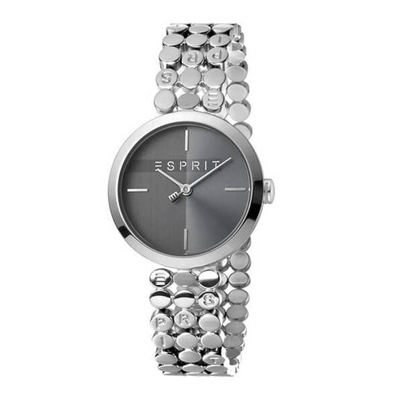 Esprit Women's Grey Dial Stainless Steel Band Analog Watch ES1L018M0025