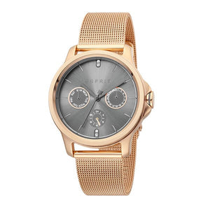 Esprit Women's Rose Gold Plated Stainless Steel Watch - ES1L145M0095 1