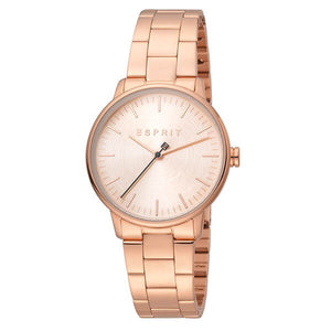 Esprit Women's Rose Gold Plated Stainless Steel Watch ES1L154M0075 1