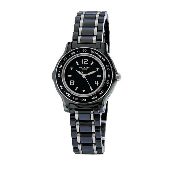 Blade Womens Black Ceramic Watch 10-3142LSS-NSN 1
