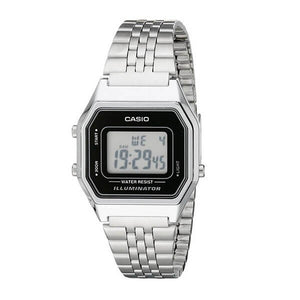 Casio Women's  LED Illuminator Dial Case and Band Digital Watch LA680WA-1DF
