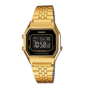 Casio Women's  LED Illuminator Dial Case and band Digital Watch LA680WGA-1BDF