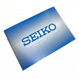 Seiko Warranty book