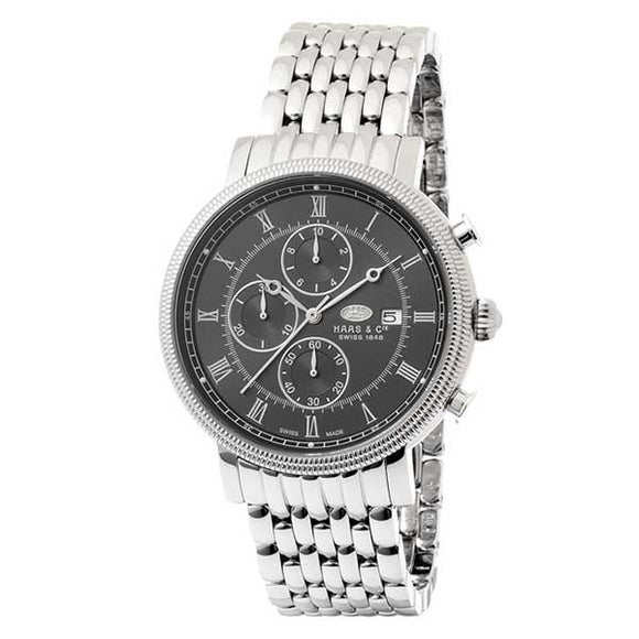 Haas & Cie Swiss Made Men's Chronograph Watch - SMNH015SEA