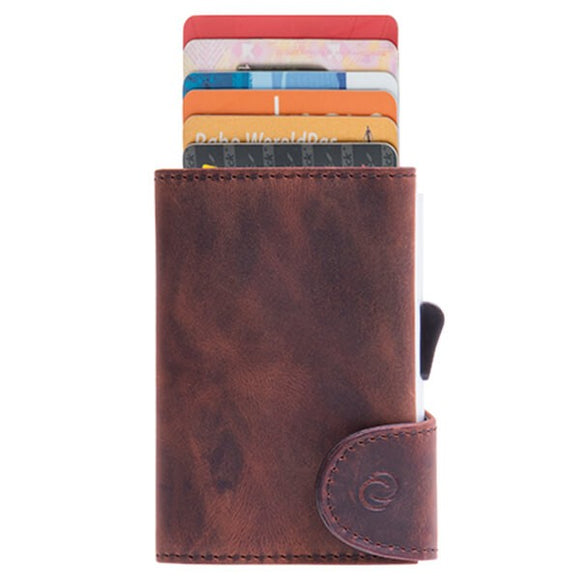 C-Secure Single Genuine Leather Wallet - WCH-buffalo