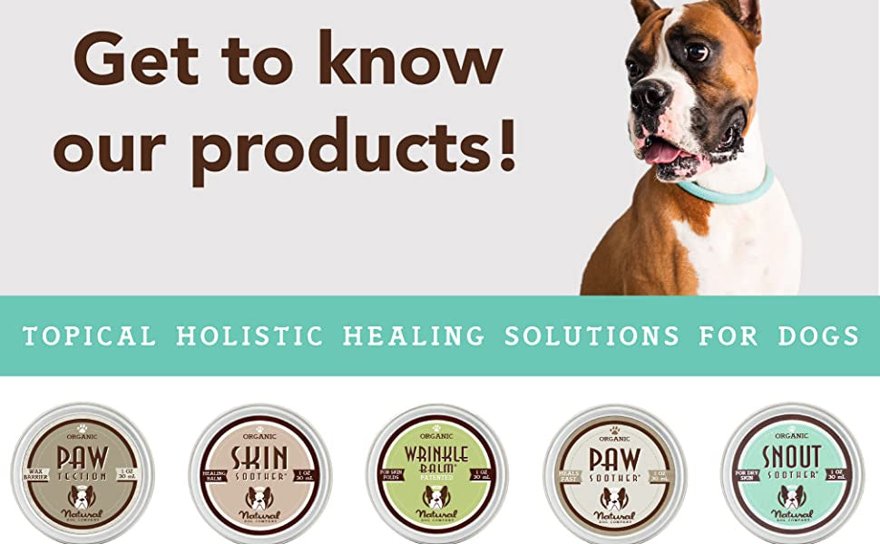Natural Dog Company Balms