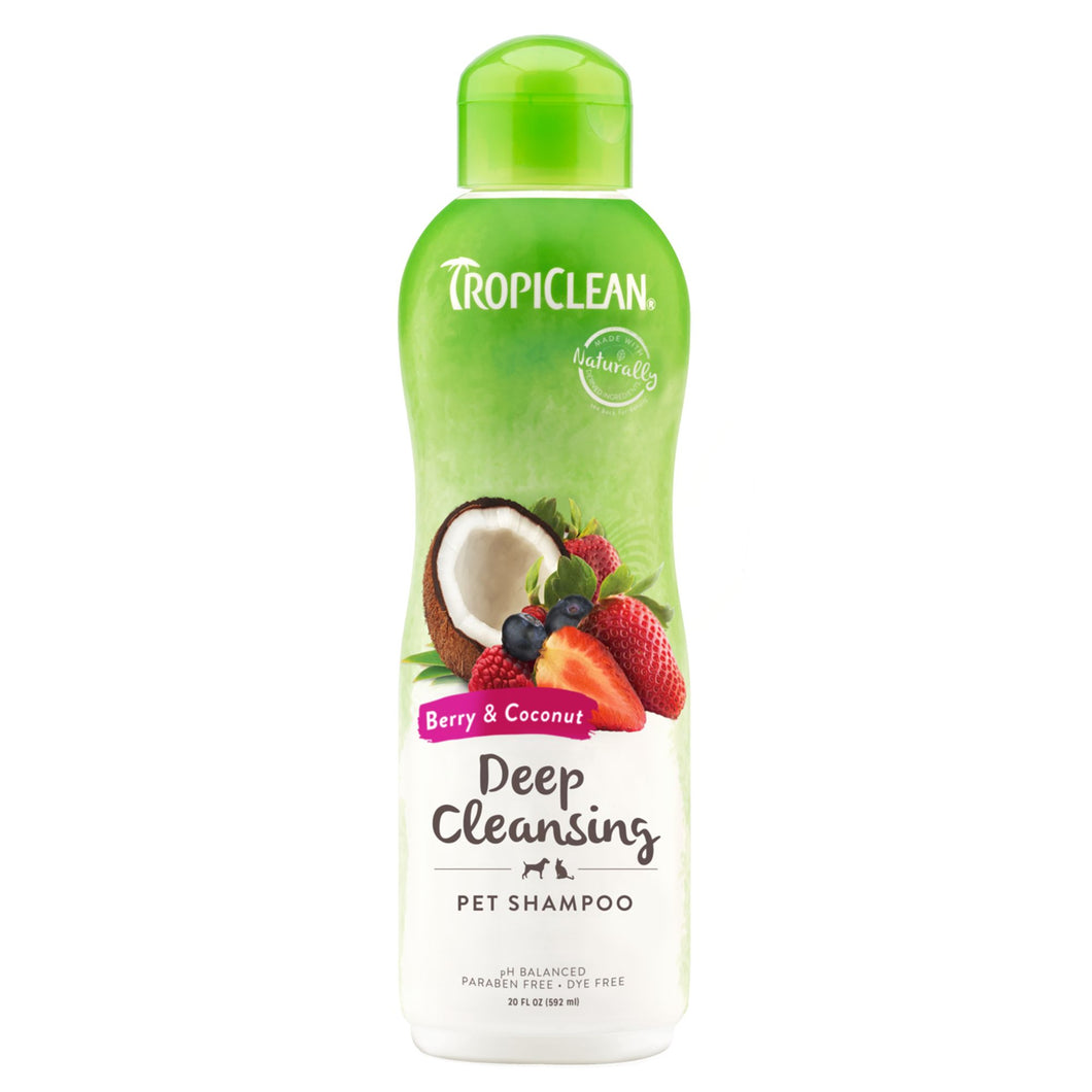 Tropiclean Deep Cleansing Shampoo - Berry & Coconut