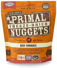 Load image into Gallery viewer, Primal Freeze Dried Nuggets