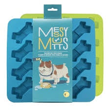 Messy Mutts Silicone Bake and Freeze Treat Maker - Pack of 2