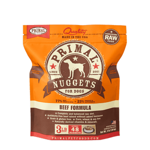 Primal Frozen Raw Food