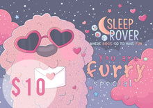 Load image into Gallery viewer, Sleep Rover Gift Card