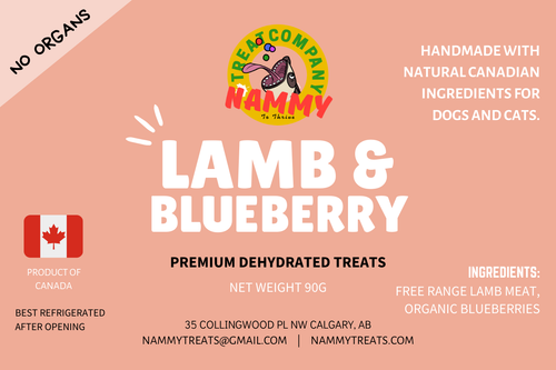 Nammy Dehydrated Treats