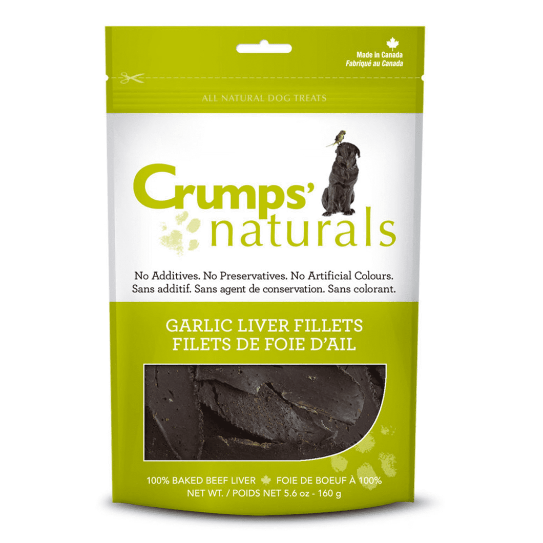 Crumps Naturals Garlic Liver Fillets