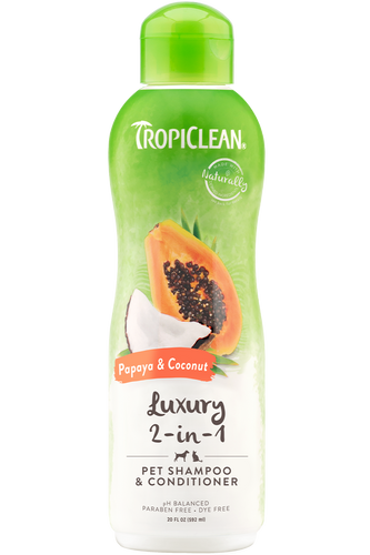 Tropiclean Papaya & Coconut Shampoo and Condtioner