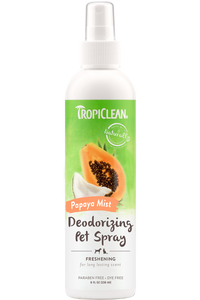 Tropiclean Deodorizing Pet Spray - Papaya Mist