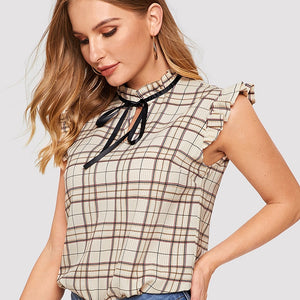 BeautyBossy 2020 Top Summer Sleeveless Blouse
