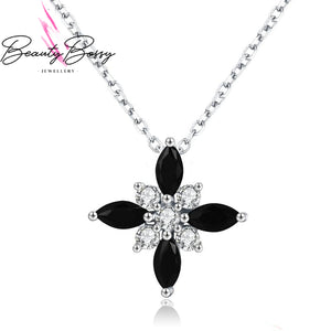 BeautyBossy 925 Sterling Silver Pendant Cross