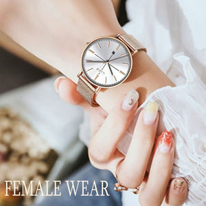 BeautyBossy 2020 LIGE Luxury Watches Gold & Whit