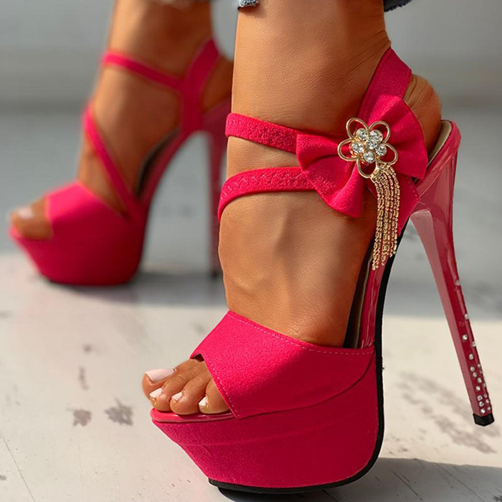 BeautyBossy 2020 Top Quality High Heels Pink